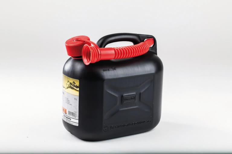 Benzin-Kanister 5 L schwarz
